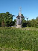 image of ling  - Eemu Windmill was built by Juri Ling on the traditional windmill site of the neighboring farm - JPG