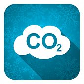 pic of carbon-dioxide  - carbon dioxide flat icon - JPG
