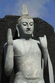 foto of polonnaruwa  - Buddha statue near the city of Polonnaruwa in Sri Lanka  - JPG