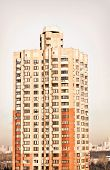 picture of highrises  - highrise block of flats - JPG