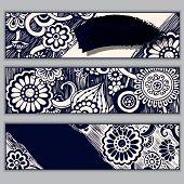 pic of batik  - Paisley batik background - JPG