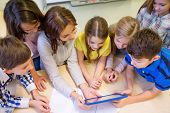 stock photo of students classroom  - education - JPG