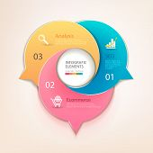 picture of step-up  - Modern business circle bubbles options banner - JPG