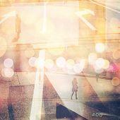 pic of exposition  - Multi exposure retro style photo - JPG