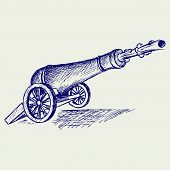 image of cannon-ball  - Medieval cannon - JPG