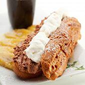 foto of eclairs  - Delicious Dessert  - JPG