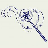 picture of magic-wand  - Magic wand - JPG