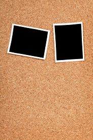 pic of polaroid  - Polaroid photo frames on cork texture background with copyspace - JPG