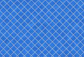 Blue tiles texture background, kitchen or bathroom concept