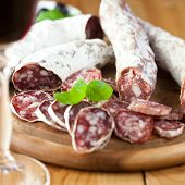 French dried sausages