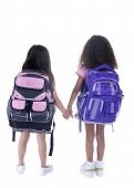 picture of young girls  - Going to school is your future - JPG