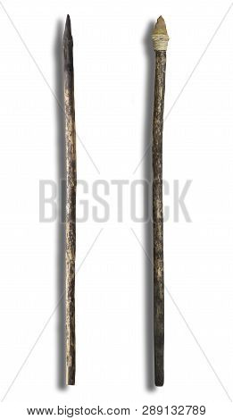 Primitive Spears Fire Hardened And