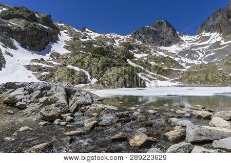 Lake Lac Blanc On The