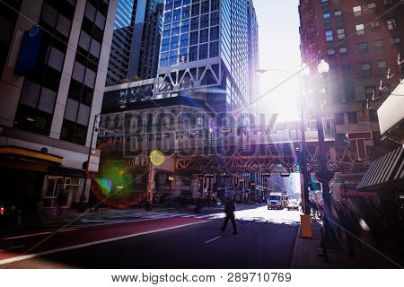 Chicago Street And Transport City