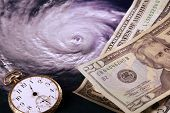 Inevitability - cost of a hurricane or natural disaster