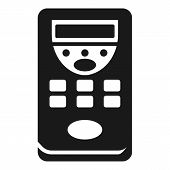Wide Remote Control Icon. Simple Illustration Of Wide Remote Control Icon For Web Design Isolated On poster