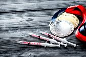 Concept Of Doping In Sport - Deprivation Medals poster