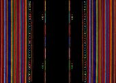 Mexican Ethnic Embroidery, Tribal Art Ethnic Pattern. Colorful Mexican Blanket Stripes Folk Abstract poster