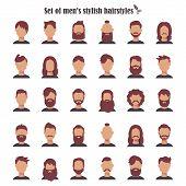 Retro Hairstyle Men. Male Retro Hair. Mohawk Hair, Hairstyles Dating Rock, Hairdo, Skinhead. The Cla poster