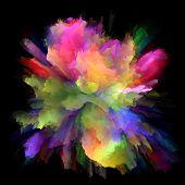 Way Of Color Splash Explosion poster