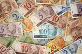 image of brazilian money  - Reais  - JPG