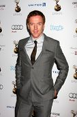 LOS ANGELES - SEP 21:  Damian Lewis arrives at the Primetime Emmys Performers Nominee Reception at S
