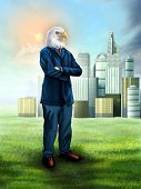 Eagle Businessman