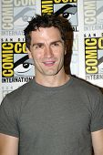 SAN DIEGO, CA - JULY 20: Sam Witwer arrives at the 2013 Comic Con press room at the Hilton San Diego