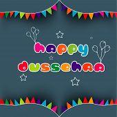 picture of dussehra  - Indian festival Happy Dussehra background - JPG