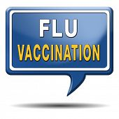 foto of flu shot  - flu vaccination needle immunization shot - JPG
