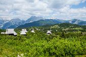 picture of velika  - Hills on Velika Planina - JPG