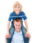 picture of piggyback ride  - Close - JPG