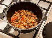 picture of tatar  - pilaf  - JPG