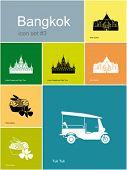 pic of rickshaw  - Landmarks of Bangkok - JPG