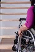 picture of upstairs  - Disabled woman can - JPG
