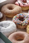 picture of jimmy  - Variety of doughnuts in box - JPG