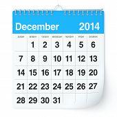 foto of calendar 2014  - 2014 year calendar - JPG