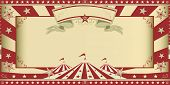 picture of circus tent  - invitation circus show - JPG