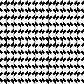 image of trapezoid  - Black and white geometric seamless pattern with trapezoid abstract background vector illustration - JPG
