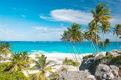 image of bottom  - Bottom Bay is one of the most beautiful beaches on the Caribbean island of Barbados - JPG