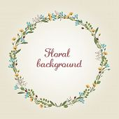 picture of girly  - Floral background - JPG