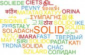 image of solids  - Background concept wordcloud multilanguage international many language illustration of solid - JPG