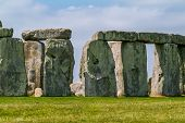 picture of stonehenge  - Stonehenge is a prehistoric monument located in Wiltshire - JPG