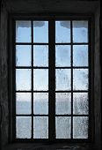 picture of dirty  - Old dirty window texture - JPG