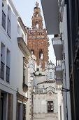 foto of templar  - Streets of Jerez de los Caballeros Spain - JPG
