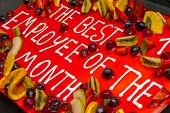 Постер, плакат: Cake For Best Employee Of The Month