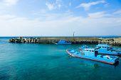stock photo of jetties  - Marina jetty - JPG