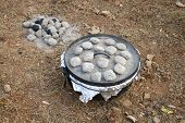 stock photo of dutch oven  - dutch ovens have been used for centuries - JPG