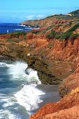 San Diego Rugged Coastline