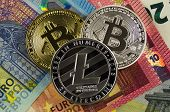 Bitcoin And Litecoin Is A Modern Way Of Exchange And This Crypto Currency Is A Convenient Means Of P poster